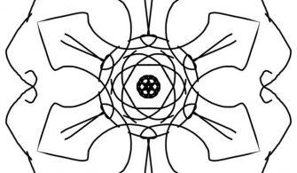 Çiçek Mandala Boyama