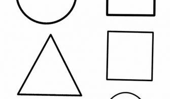 Geometrik Sekiller Yazilari Kirtkirtla