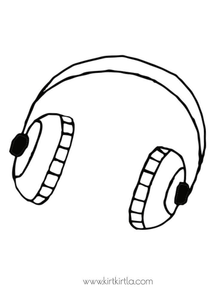 Muzik Boyama Sayfalari Kirtkirtla