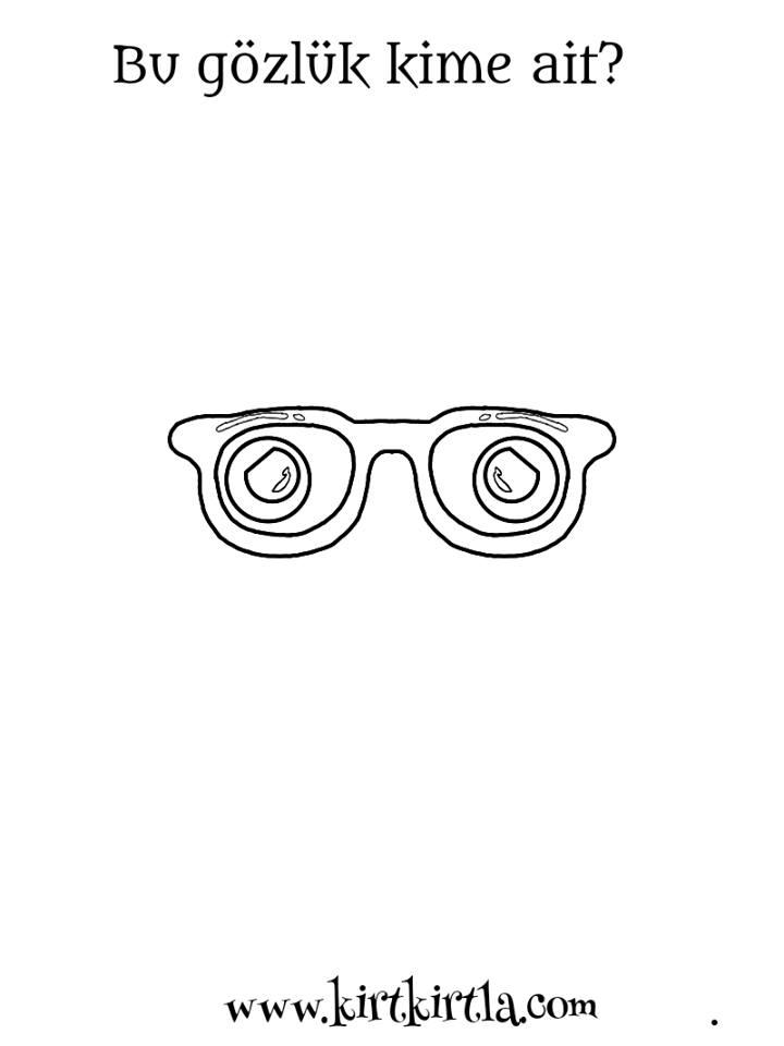 bu gözlük kime ait