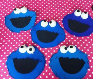 Okul-öncesi-kurabiye canavarı-sanat etkinliği