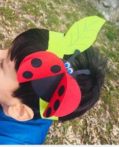 okul öncesi-sanat etkinlikleri-uğur-böceği -tac