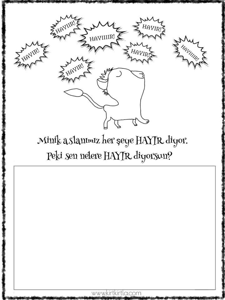 her şeye hayır diyen aslan- sesli kitap