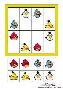 angry birds-sudoku