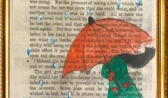 Yağmurdan kaçan kız